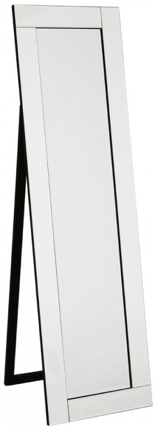 Clear Glass Floor Standing Mirror