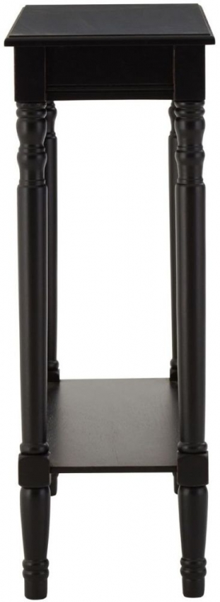 Heritage Black Console Table