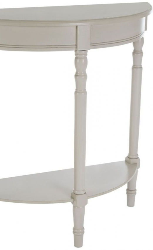 Heritage Grey Console Table