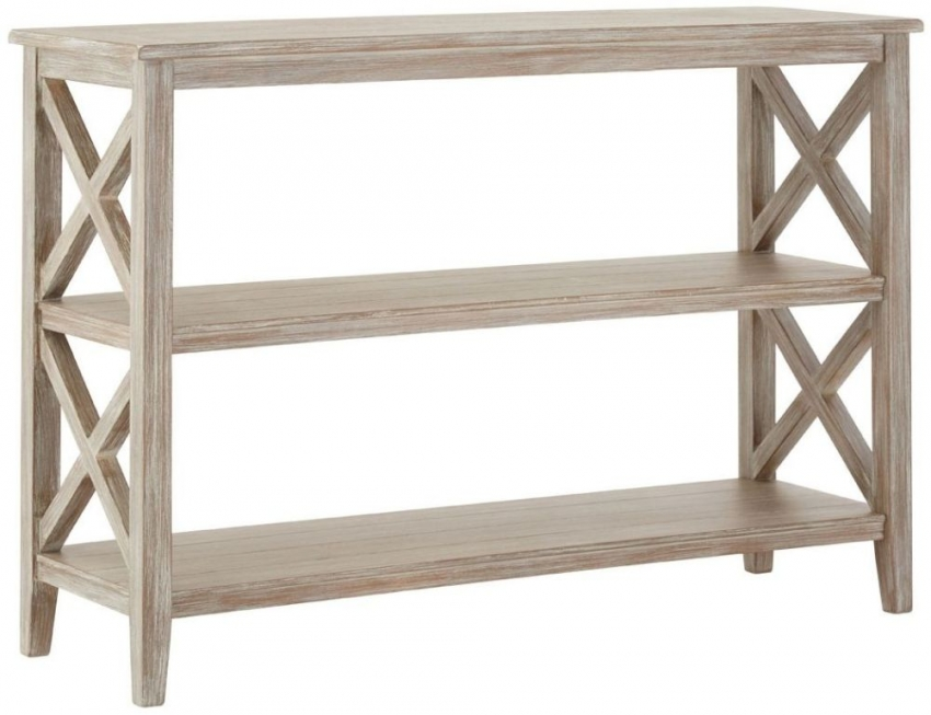 Heritage Natural Winter Melody Bookcase with Shelf