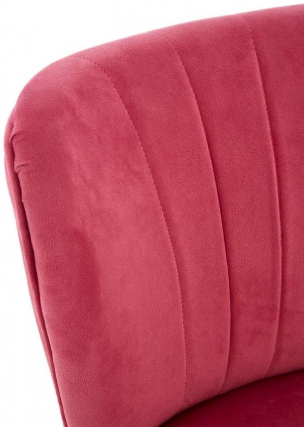 Mia Pink Velvet Kids Dining Chair (Pair)