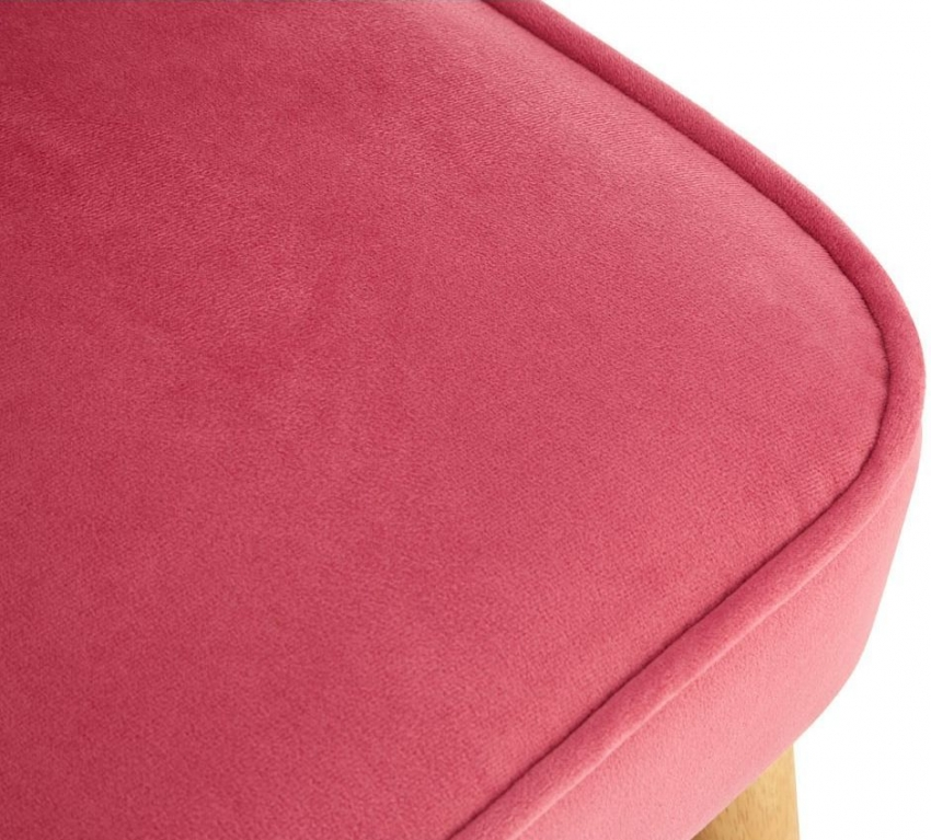 Mia Pink 2 Seater Fabric Kids Sofa