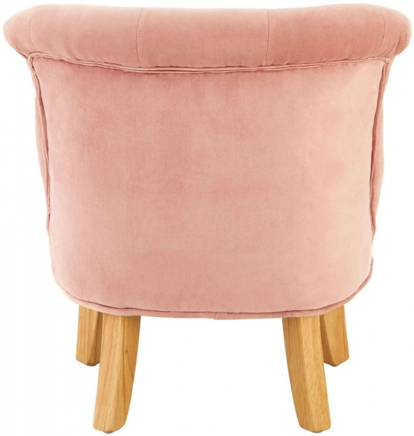 Estelle Pink Fabric Kids Dining Chair (Pair)