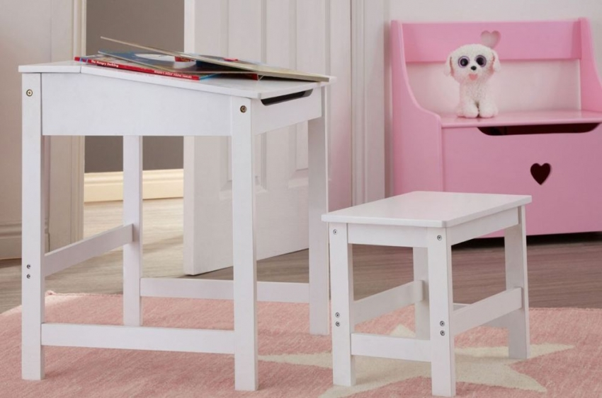 Kids Pink Storage Box with Seat