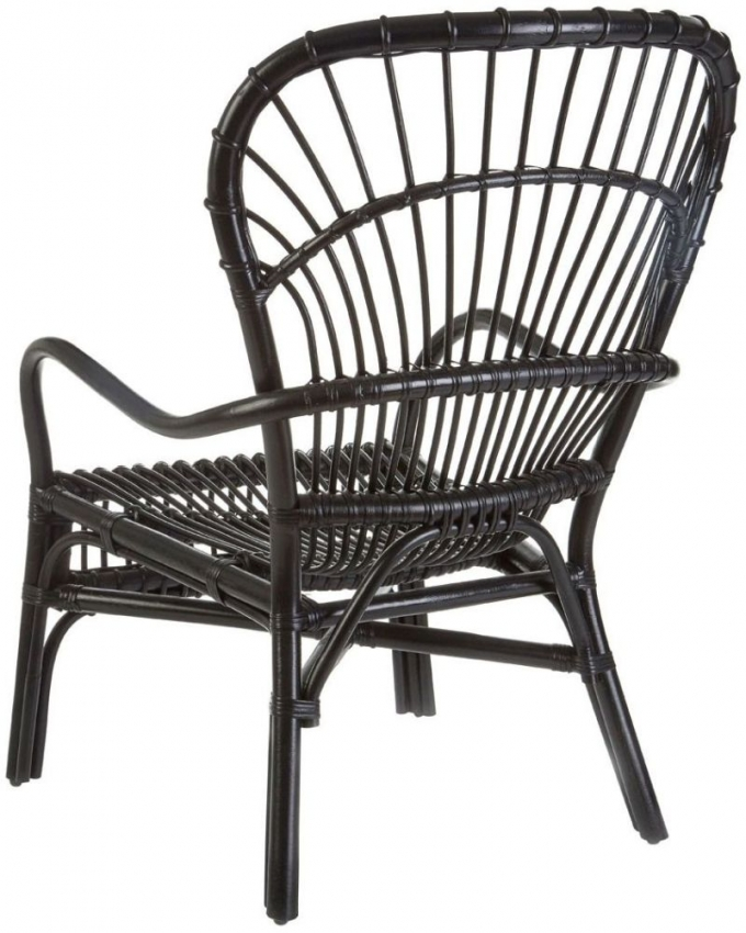 Havana Black Rattan Relax Chair