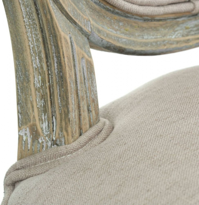 Francois Natural Fabric Bedroom Chair