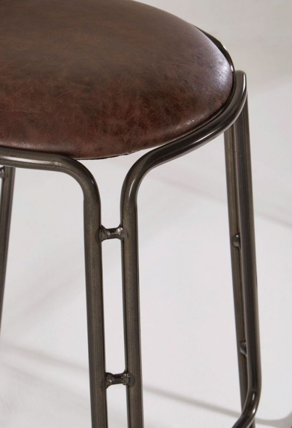 Groovy Dalston Brown Bar Stool Set Of 4 Caraccident5 Cool Chair Designs And Ideas Caraccident5Info