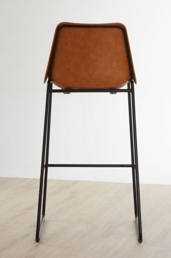Dalston Orange Bar Stool
