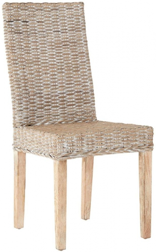 Maka Grey Kubu Rattan Chair