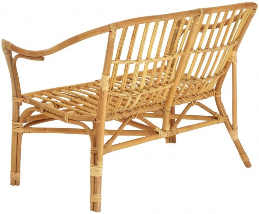Milano Dining Set - Natural Rattan and Tempered Glass