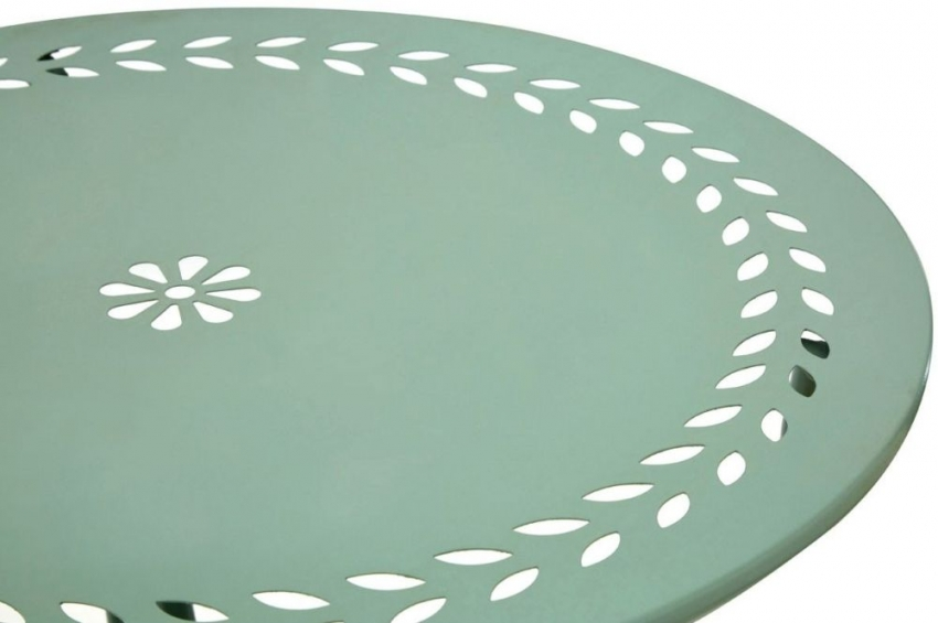 Findlay Jardin Green Round Dining Set with 2 Chairs - 62cm