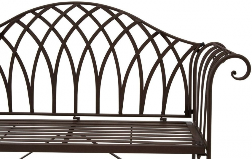 Finchwood Jardin Brown Small Bench