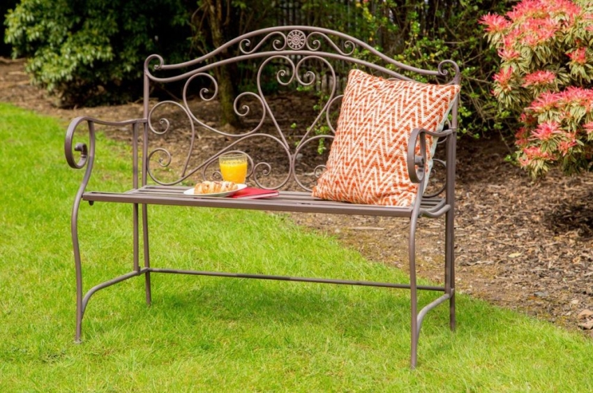 Finchwood Jardin Large Brown Bench