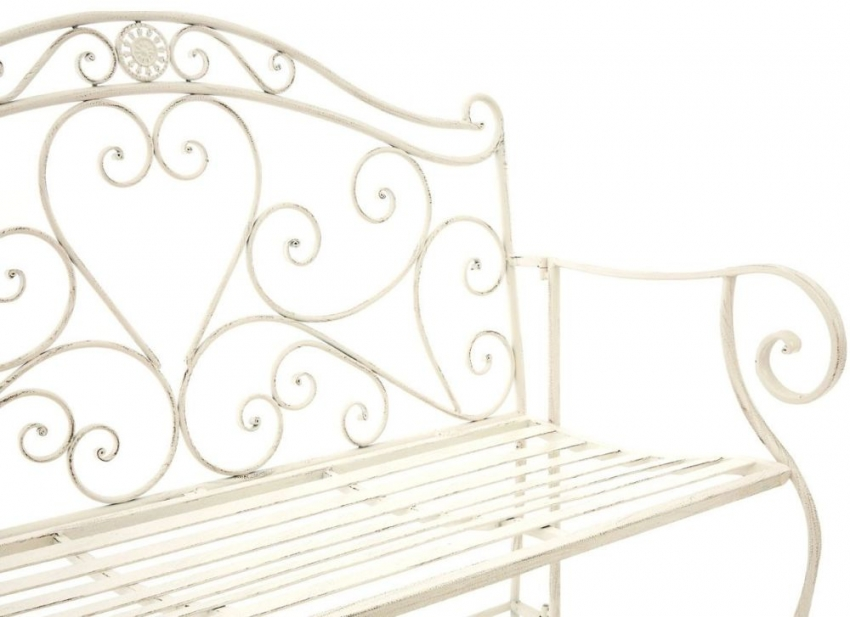 Finchwood Jardin Large Cream Bench