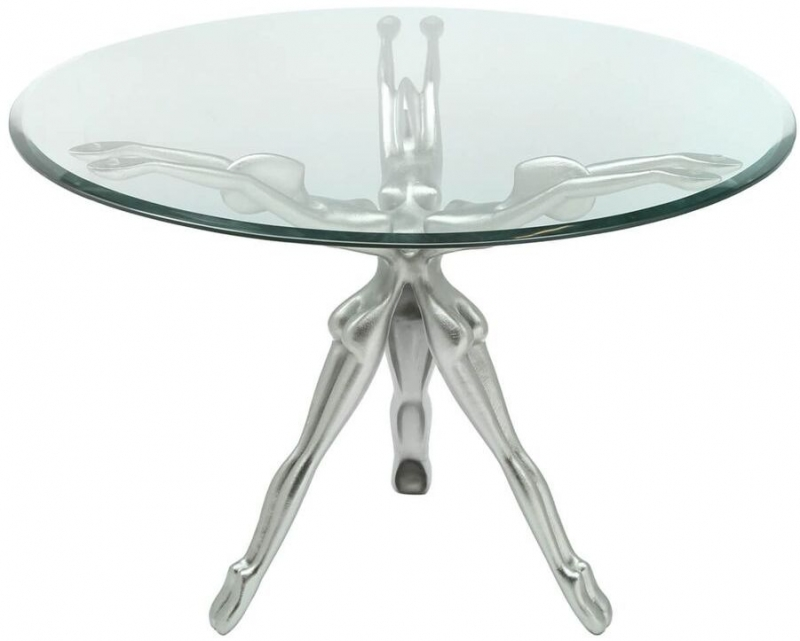 Limerick Glass Round Coffee Table