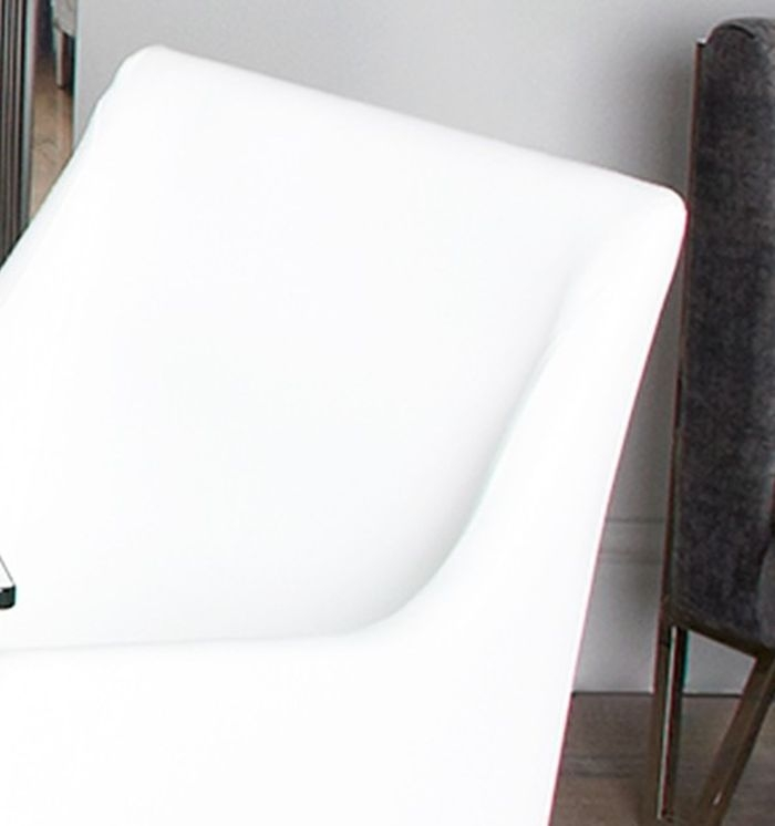 Aston White Faux Leather Dining Chair (Set of 4)