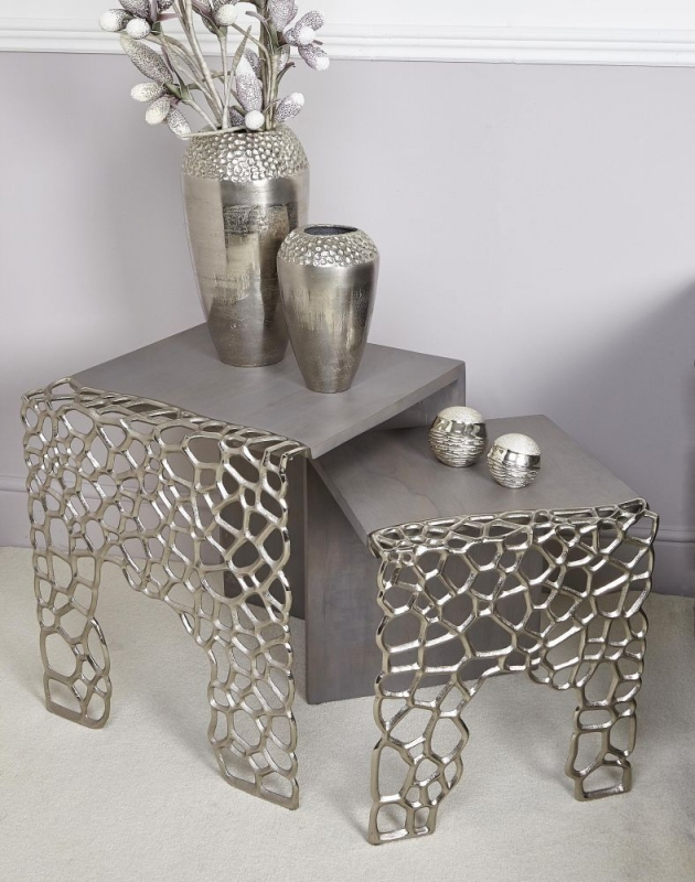 Emmaus Grey End Table