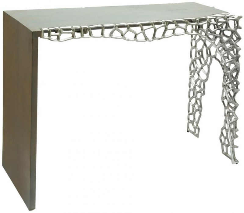 Emmaus Grey Console Table