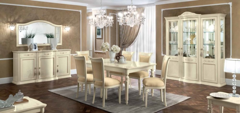 Camel Torriani Day Ivory Italian Dining Chair