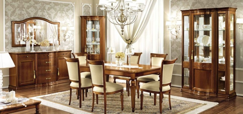 Camel Torriani Day Walnut Italian Dining Chair (Pair)