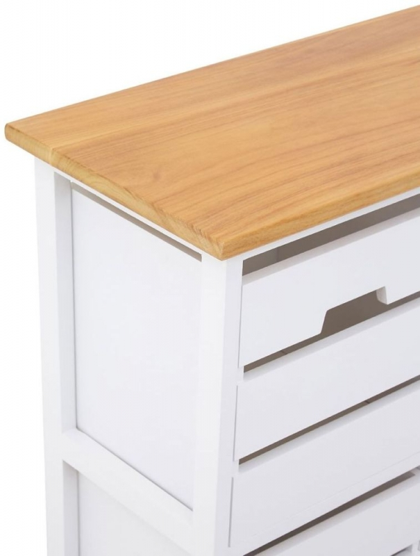 Newport Natural 4 Drawer Chest