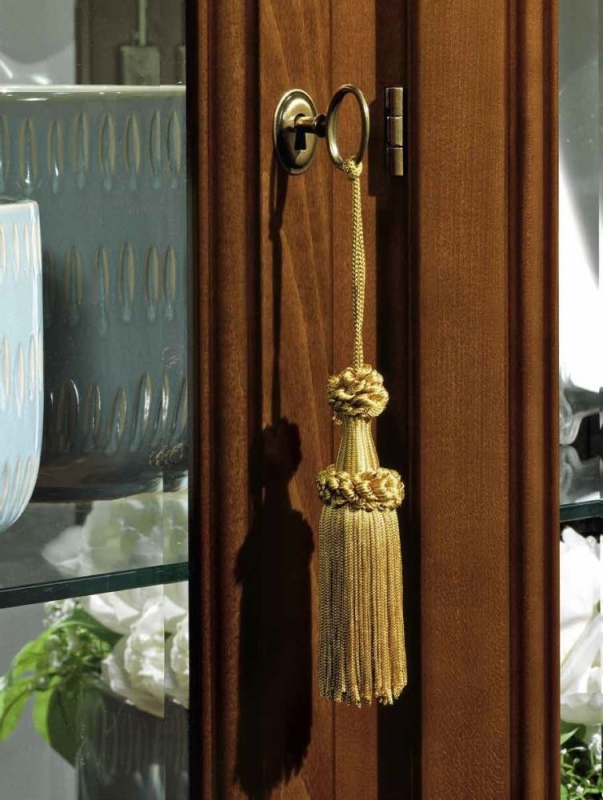 Camel Treviso Day Cherry Wood Italian 1 Left Door Corner Unit