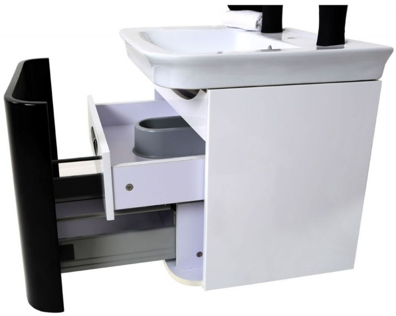 Adelphi Black Under Basin Cabinet Set