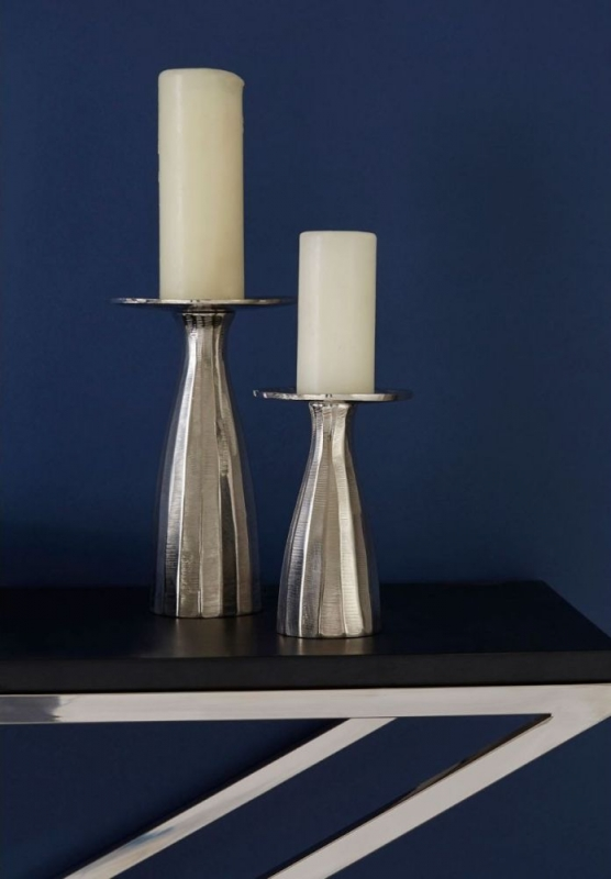 Tribute Black Criss Cross Console Table