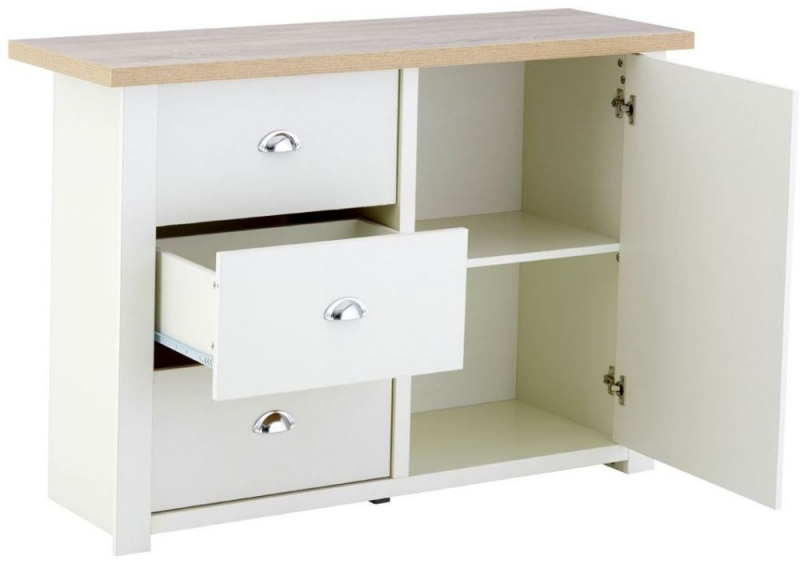 St Ives Sideboard - White and Oak