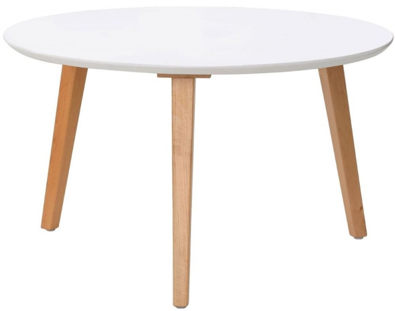 Fiesta Chic White Coffee Table
