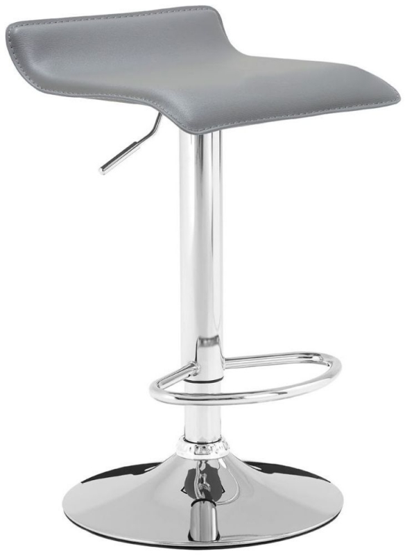 Carter Grey Bar Stool (Pair)