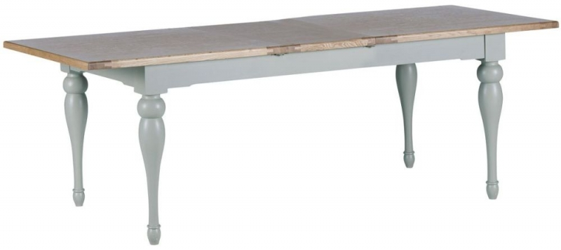 Willis and Gambier Malvern Slate Grey Extending Dining Table