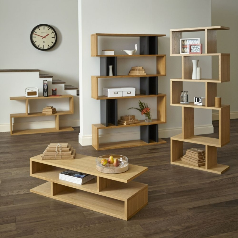 Content by Terence Conran Balance Oak Low Shelving Unit
