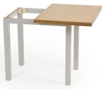 Mark Harris Hove Extending Dining Table - Oak and Grey