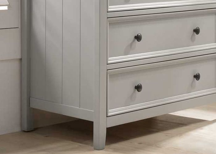 Vida Living Mila Clay Painted 2+3 Drawer Chest