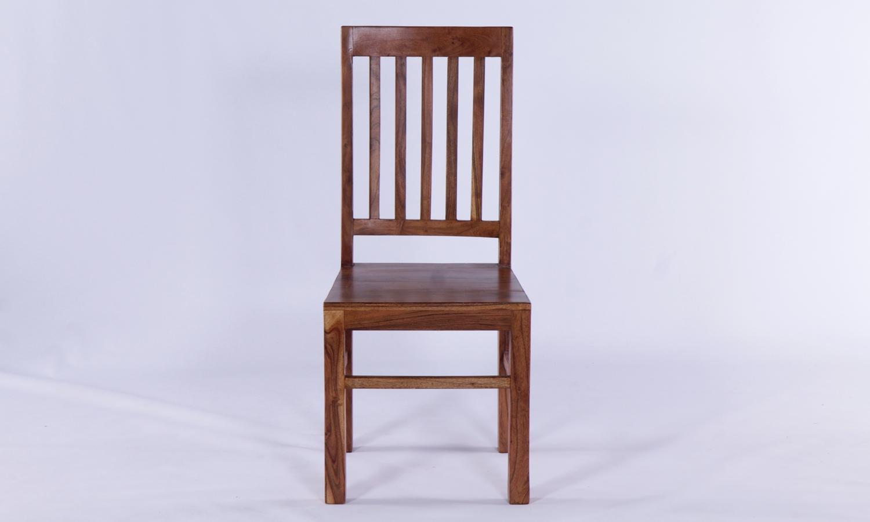 Java Acacia Slatted Dining Chair (Pair)