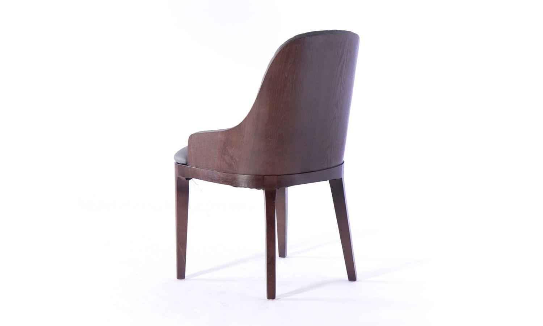 4 x Urban Deco Madrid Grey Faux Leather Dining Chair