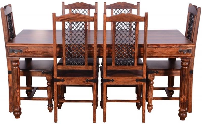 Urban Deco Ganga Sheesham 175cm Rectangular Dining Table