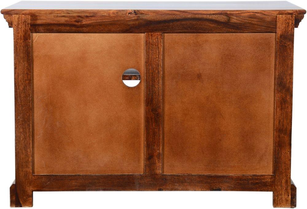 Urban Deco Ganga Sheesham 2 Drawer Medium Plazma TV Cabinet