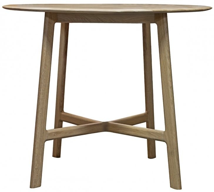Gallery Madrid Oak Round Dining Table