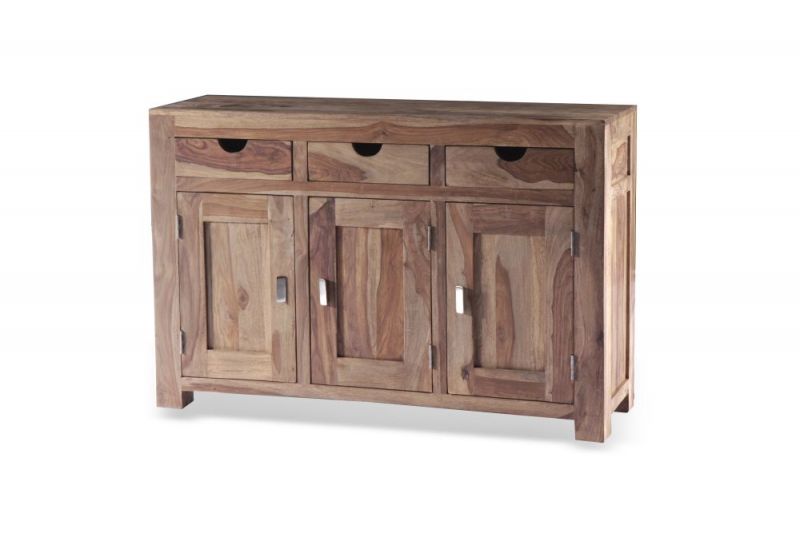 Guru Sheesham 3 Door 3 Drawer Wide Sideboard