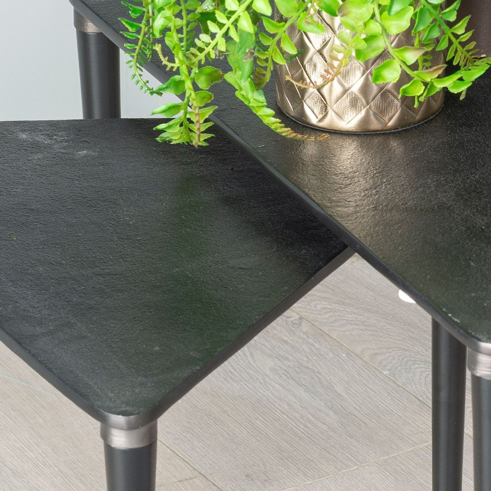 Urban Deco Esme Cast Aluminium Nest of Tables