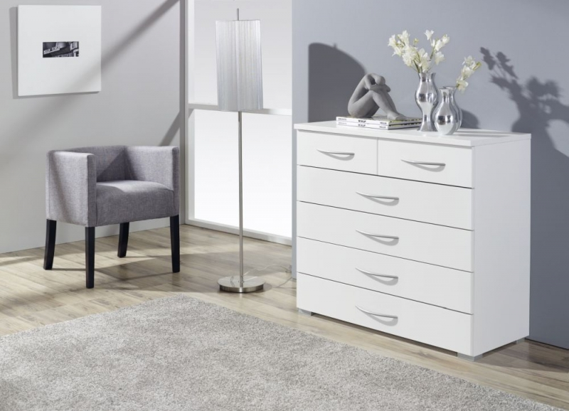 Rauch Blitz 4+2 Drawer Chest in Wooden Front