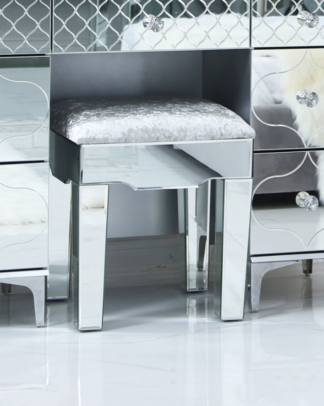 CIMC Colorado Mirrored Stool
