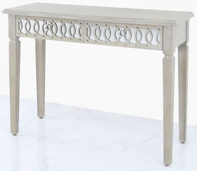 Melville Mirrored Console Table