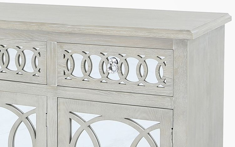 Melville Mirrored Large Sideboard