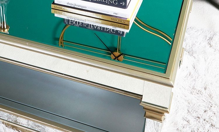 Killona Champagne Mirrored Coffee Table