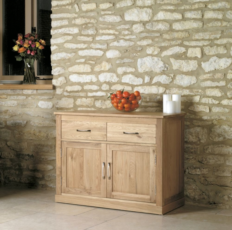 Baumhaus Mobel Oak Small Sideboard