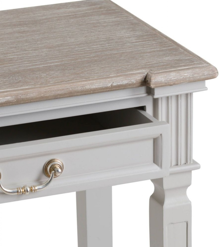 Hill Interiors Liberty White Painted Console Table