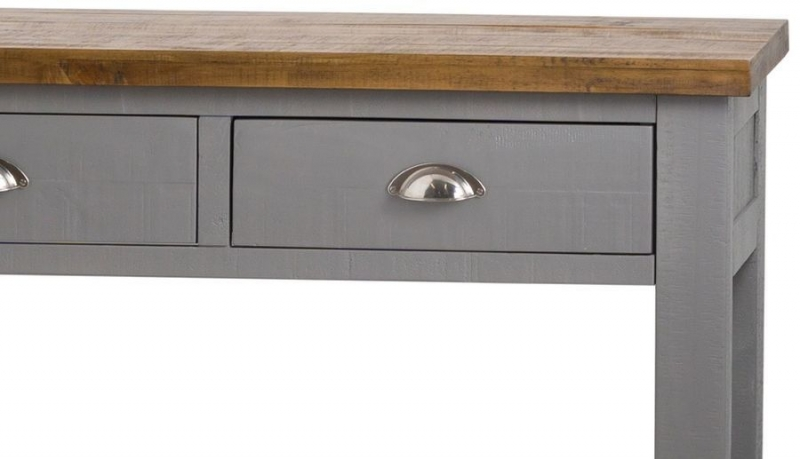 Hill Interiors Byland Grey Large Console Table